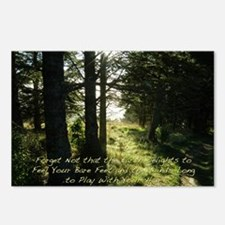 The Earth Delights in You Postcards (Package of 8)