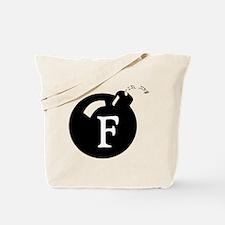 The F Bomb Tote Bag