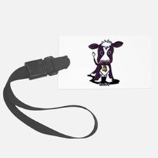 Holstein Cow Luggage Tag