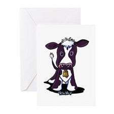 Holstein Cow Greeting Cards (Pk of 20)