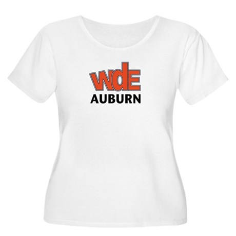 WdE Women's Plus Size Scoop Neck T-Shirt