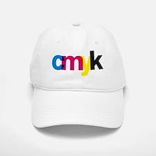 CMYK Baseball Baseball Cap