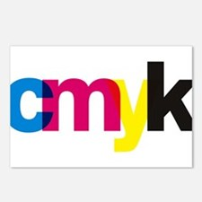 CMYK Postcards (Package of 8)