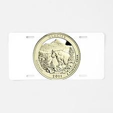 Montana Quarter 2011 Basic Aluminum License Plate