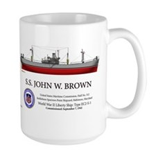 SS John W. Brown Liberty Ship Mug