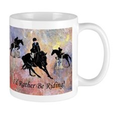 Id Rather Be Riding! Horse Small Mug