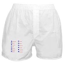 Sheldon Cooper Adjectives Boxer Shorts