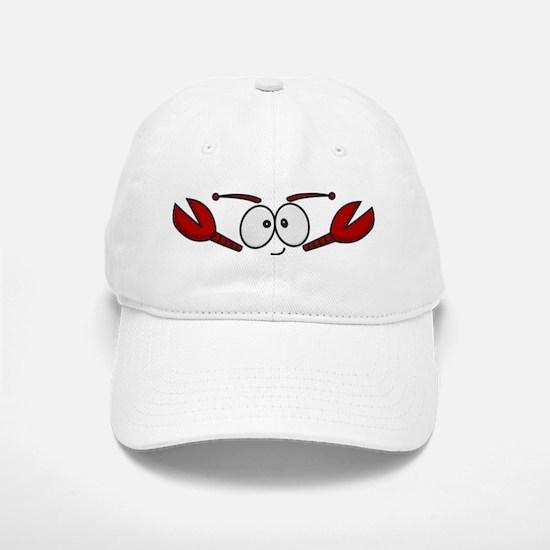 Lobster Face Baseball Baseball Cap