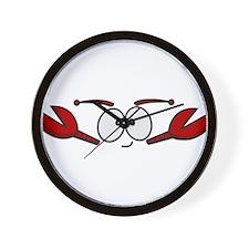 Lobster Face Wall Clock