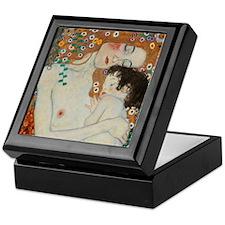 Klimt Mother and Child Keepsake Box