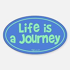 Journey Oval Bumper Stickers