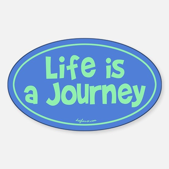Journey Oval Decal