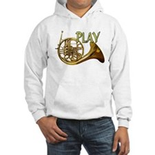 PLAY- FRENCH HORN copy.png Hoodie