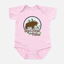 Bear's Gone Fishn' Infant Bodysuit