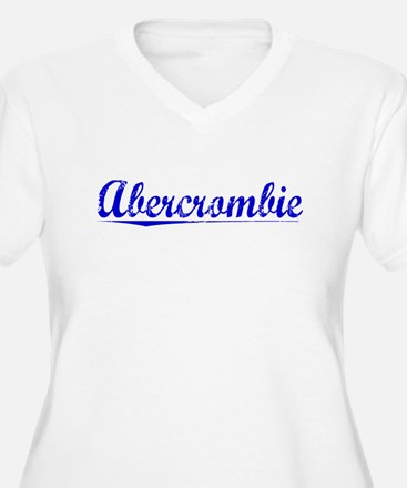 Abercrombie, Blue, Aged T-Shirt