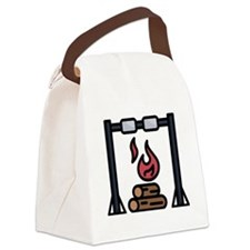Postcard - Fort Campbell, KY Canvas Lunch Tote
