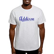 Addison, Blue, Aged T-Shirt