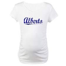 Alberto, Blue, Aged Shirt