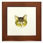 I LOVE MY CAT Framed Tile