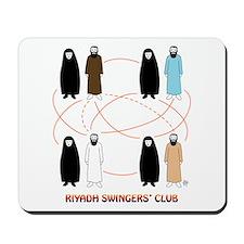 Riyadh Swingers' Club Mousepad