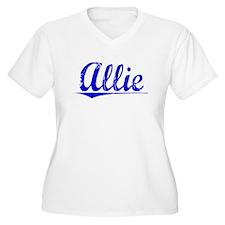 Allie, Blue, Aged T-Shirt