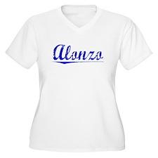Alonzo, Blue, Aged T-Shirt