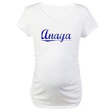 Anaya, Blue, Aged Shirt