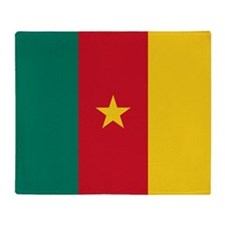 Flag of Cameroon Throw Blanket