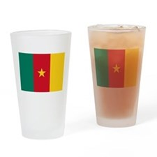 Flag of Cameroon Drinking Glass