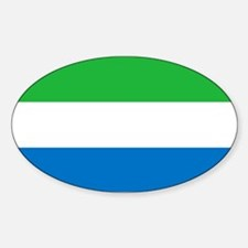 Flag of Sierre Leone Decal