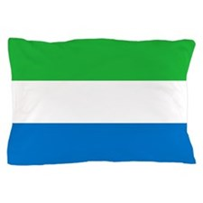 Flag of Sierre Leone Pillow Case