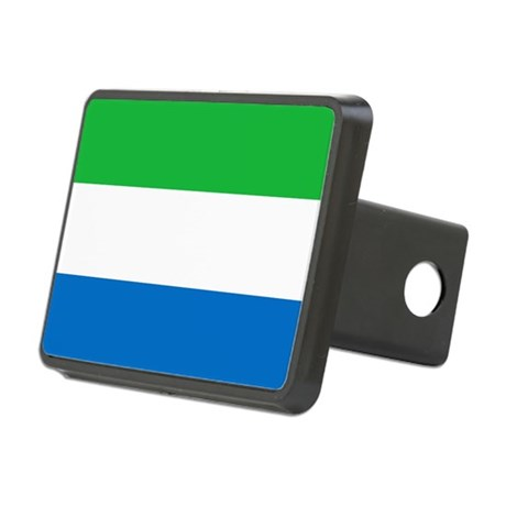 Flag of Sierre Leone Rectangular Hitch Cover