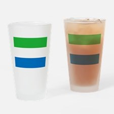 Flag of Sierre Leone Drinking Glass