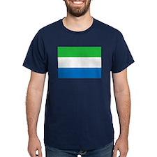 Flag of Sierre Leone T-Shirt