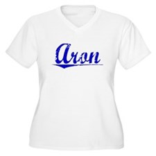 Aron, Blue, Aged T-Shirt