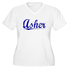 Asher, Blue, Aged T-Shirt