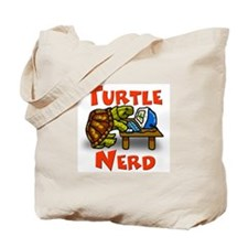 Turtle Nerd Tote Bag
