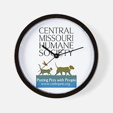 CMHS Color Logowear Wall Clock