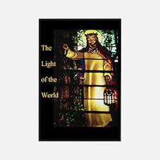 Jesus Light of the World Rectangle Magnet