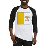 Vatican City Blank Flag Baseball Jersey
