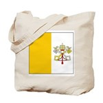 Vatican City Blank Flag Tote Bag