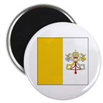 Vatican City Blank Flag Magnet
