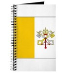 Vatican City Blank Flag Journal