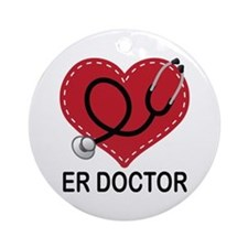 ER Doctor Ornament (Round)