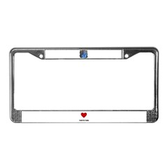 BEAR BUDDY License Plate Frame