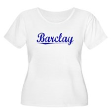 Barclay, Blue, Aged T-Shirt