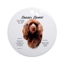 Sussex Spaniel  Ornament (Round)