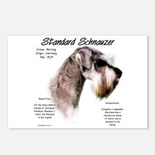 Standard Schnauzer Postcards (Package of 8)