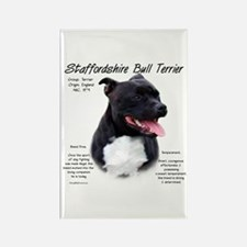 Staffordshire Bull Rectangle Magnet