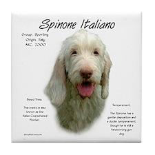 Spinone Italiano Tile Coaster